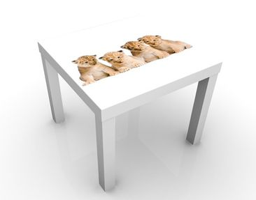 Produktfoto Design Table Sweet Baby Lion 55x55x45cm