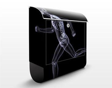 Produktfoto Design Letter Box Glassy Human...