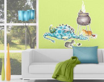 Produktfoto Wandtattoo Kinderzimmer No.659 Fridas Freunde 92x80cm