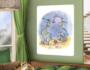 Produktfoto Selbstklebendes Wandbild Die kleine Seenadel© Zirkus