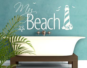 Produktfoto Wall Decal no.EK375 My Beach