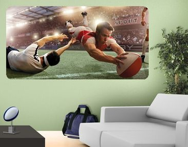 Product picture Wall Mural Rugby-Action