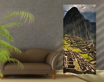 Produktfoto Türtapete Berge selbstklebnd - Machu Picchu