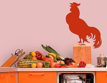 Product picture Wall Decal no.EV112 Rooster
