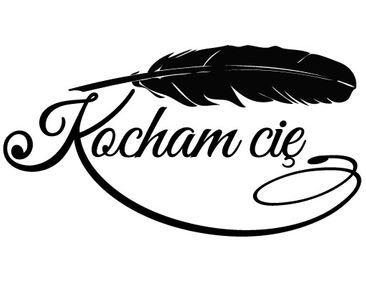 Product picture Wall Decal no.EV117 Kocham Cie