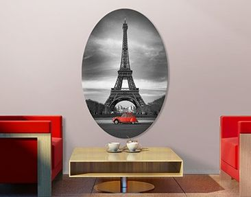 Produktfoto Canvas Art Oval Spot On Paris