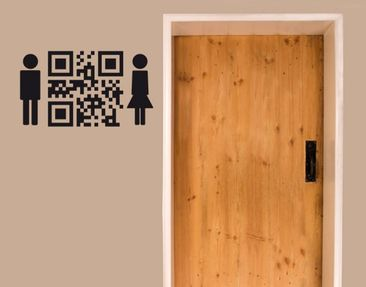 Produktfoto Wall Decal no.UL1007 QR Code WC