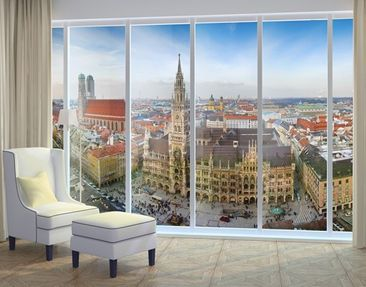 Produktfoto Fensterfolie - XXL Fensterbild City of...