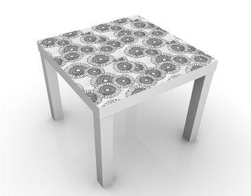 Immagine del prodotto Tavolino design Sun flower Ornament 55x55x45cm