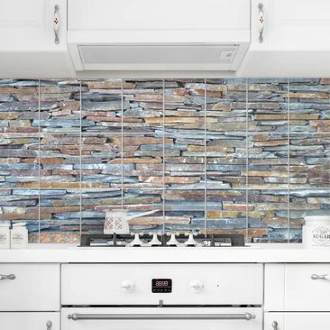 Produktfoto Tile Mural Colourful Stone Wall