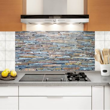 Product picture Tile Mural Colourful Stone Wall