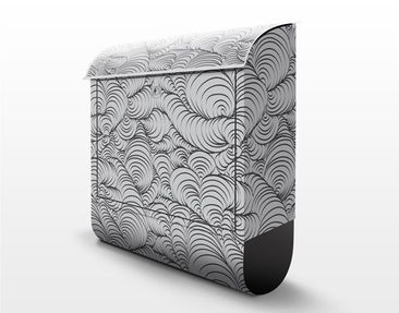 Design letter box organic design pattern 39x46x13cm product picture design letter box organic design pattern spiritdancerdesigns Images