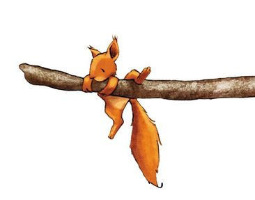 Product picture Wall Decal no.707 Hold On, Squirricorn!...