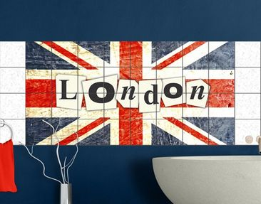 Product picture Tile Mural Yeah London