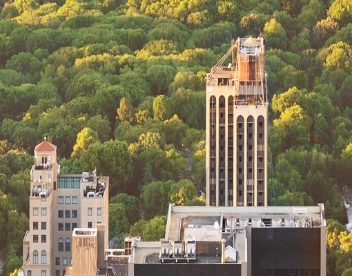 Produktfoto Leinwandbild No.132 Blick über den Central Park 70x70cm