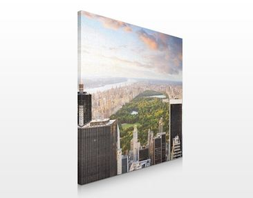 Immagine del prodotto Stampa su tela no.132 View Above the Central Park 70x70cm