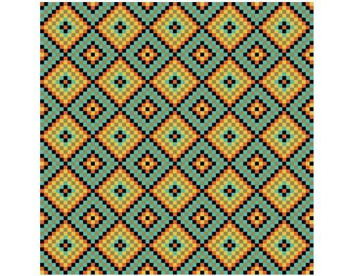 Produktfoto Design Tisch - Buntes Mosaik Fliesenmuster - Tische Bunt