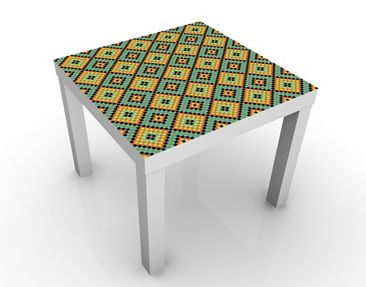 Product picture Design Table Colorful Mosaic Tiled...