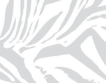 Product picture Design Letter Box Zebra Design Lightgrey...