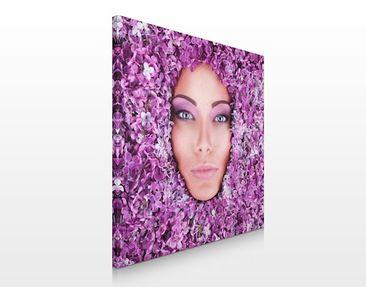 Produktfoto Leinwandbild No.450 Violett 70x70cm