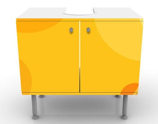 Produktfoto Waschbeckenunterschrank - Caribbean Lounge - Badschrank Gelb