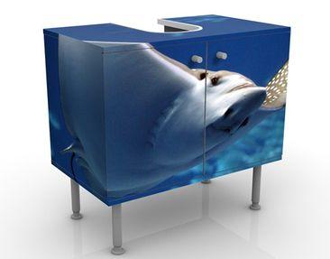 Immagine del prodotto Mobile per lavabo design Batoidea 60x55x35cm