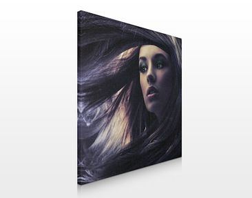 Product picture Canvas Art no.533 Hair 70x70cm