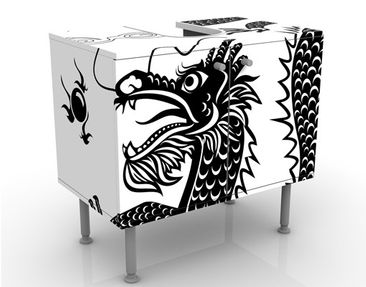 Immagine del prodotto Mobile per lavabo design Asian Dragon 60x55x35cm
