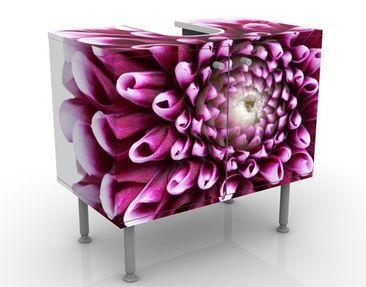 Produktfoto Waschbeckenunterschrank - Aster - Blumen Badschrank