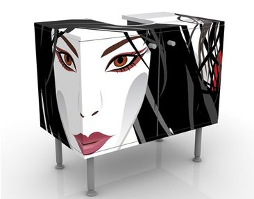 Product picture Design Vanity Asian Girl 60x55x35cm