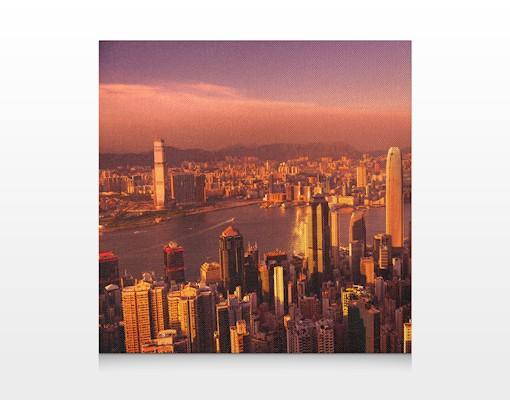 Produktfoto Leinwandbild No.548 Hongkong Sunset...