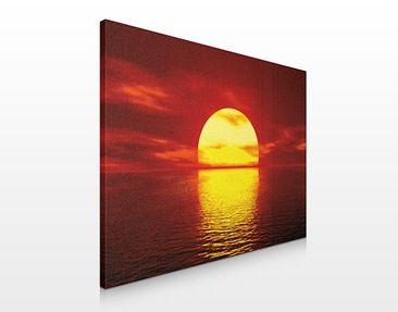Produktfoto Leinwandbild No.20 Fantastic Sunset 80x60cm