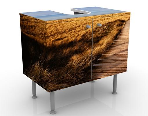 Produktfoto Waschbeckenunterschrank - Dünenweg auf Sylt - Badschrank