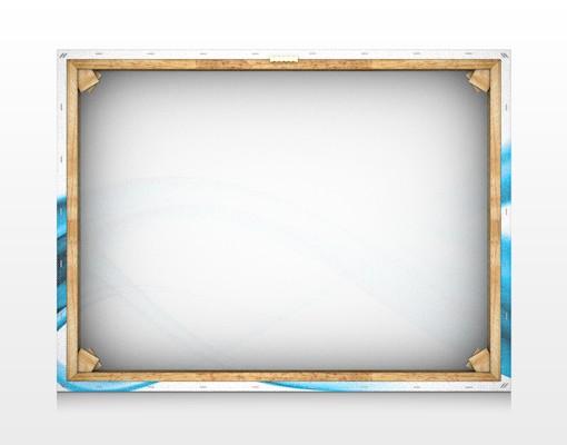 Produktfoto Leinwandbild No.95 Blue Element 80x60cm