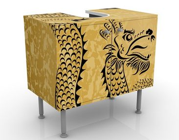 Product picture Design Vanity Chinese Dragon 60x55x35cm