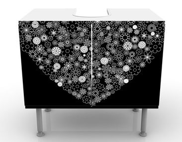 Product picture Design Vanity Heart Giveaway 60x55x35cm