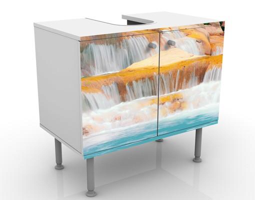 Produktfoto Waschbeckenunterschrank - Wasserfall...