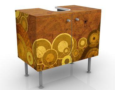 Produktfoto Design Vanity Golden Circles 60x55x35cm