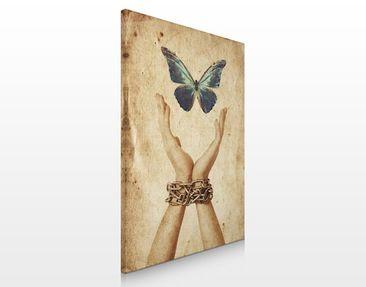 Produktfoto Leinwandbild No.248 Flieg Schmetterling 60x80cm
