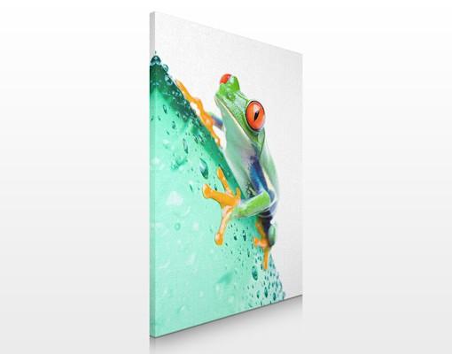 Produktfoto Leinwandbild No.35 Frog 60x80cm