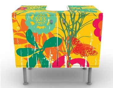 Product picture Design Vanity Grunge Garden 60x55x35cm