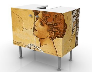 Product picture Design Vanity Miss Summer 60x55x35cm