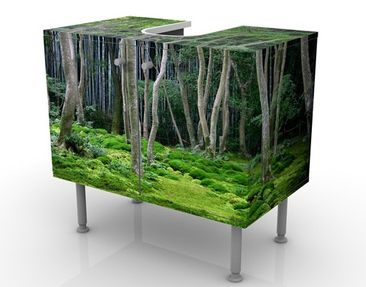 Product picture Design Vanity Japanese Forest 60x55x35cm
