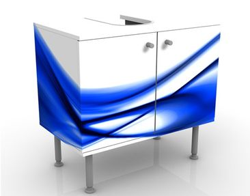 Produktfoto Design Vanity Blue Touch No.2 60x55x35cm