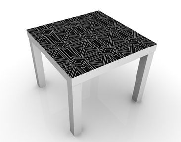 Product picture Design Table Striped Pattern Design...
