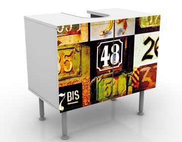 Product picture Design Vanity Numbers 60x55x35cm