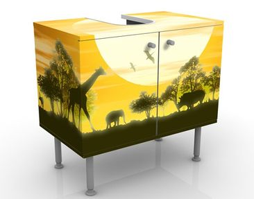 Immagine del prodotto Mobile per lavabo design no.CG9 Savannah Sunset 60x55x35cm