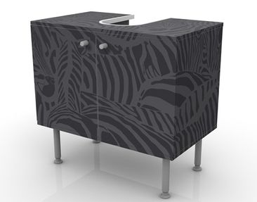 Product picture Design Vanity No.DS3 Zebras Black...