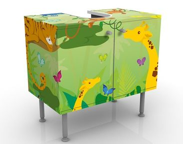 Immagine del prodotto Mobile per lavabo design no.IS87 Jungle Playground 60x55x35cm