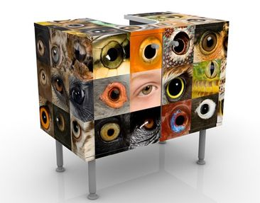 Immagine del prodotto Mobile per lavabo design Eyes Of The World 60x55x35cm
